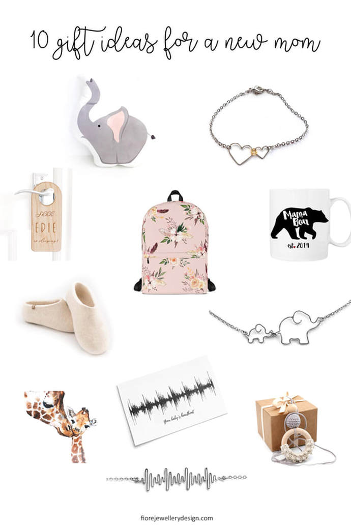 10 inspiring gift ideas for a new mom by Fiore Jewellery